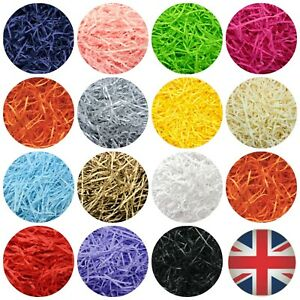 LUXURY SHREDDED KRAFT HAMPER PAPER GIFT BOX HAMPER PACKAGING FILLER SHRED UK