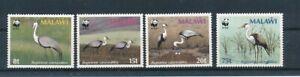 D193512 WWF Giant Panda Birds MNH Malawi