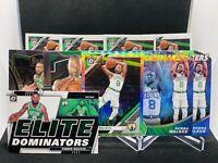 2019-20 Panini Prizm Optic Silver Holo Select Kemba Walker Lot SP Boston Celtics
