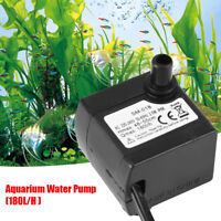 Quiet Electric Water Pumps for Fish Tank Pond Submersible Aquarium Water Pump