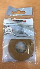 Praktikus Rohrrosette Kunststoff 22 mm buche / eiche