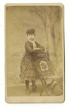 19th Century Children - 19th Century Carte-de-visite Photograph - Rowville, Ohio