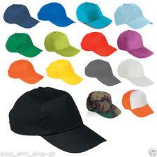 Chapeaux noirs pour homme en 100% coton