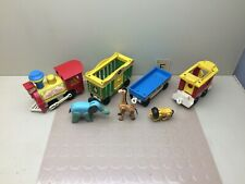 Vintage Fisher Price Little People Circus Train #991