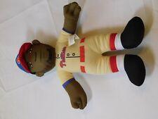 "Philadelphia Phillies 9 Dominic Brown Stuffed Baseball player 14"" Tall Toy"