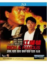 "Chow Yun Fat ""Rich & Famous"" Andy Lau HK Version Region All Action 1987 Blu-Ray"