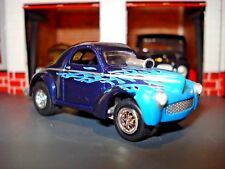 "1941 41 WILLYS COUPE RACING WILLY"" LIMITED EDITION CAR 1/64 DRAG CAR JL"