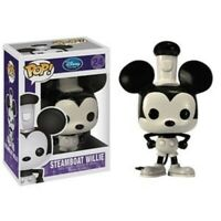 RARE 2011 Vaulted Steamboat Willie Funko Pop Vinyl New in Mint Box + Protector