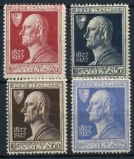 Italia Regno 1927 Sass. 210-213 Nuovo ** 100% Volta