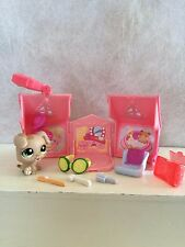 Littlest Pet Shop 1353 Brown Boxer Puppy Day Spa Accessories - USA SELLER 9 pics