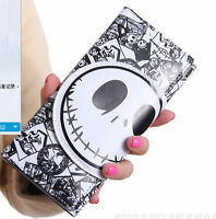 Nightmare before Christmas male and female cartoon wallet Fold purses bag