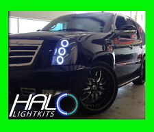 2007-2014 CADILLAC ESCALADE WHITE LED HALO HEADLIGHT KIT by ORACLE LIGHTING