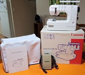 Clothing Sewing Machine - Janome CoverPro 1000CPX (Negotiable)