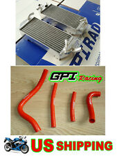 GPI 40MM Aluminum Radiator + hose SUZUKI RM250 RM 250 1999 2000 99 00