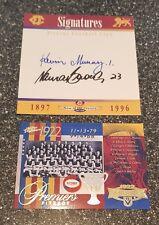 2006 AFL Select Premiership Commemorative Card - Fitzroy (1922) + Signatures TOC
