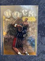 Charles Barkley 1997-98 Topps Rock Stars Die-Cut Insert Card RS4 SP  SIR CHARLES