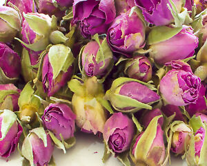Dried Pink Rose Buds, Cake Decor Tea Candle Crafts Garnishes Wedding Confetti