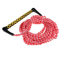 72 Ft Watersports Wakeboard Rope Surfing Water Ski Line Cord with Handle