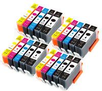 20 PK XL Ink Combo Pack + chip for 564 Photosmart Printer 7510 7515 7520 7525