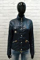 Moncler Giacca da Donna Taglia 1 S Giubbino Giubbotto Jacket Woman Blu Primavera