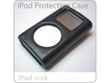 Mini iPod Click Wheel Deluxe HARD BLACK LEATHER Case