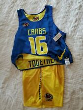New Nike Dri-Fit Baltimore Lc Crabs Lacrosse Uniform Shorts & Jersey Men's Large