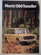 MORRIS 1300 TRAVELLER orig 1972 UK Mkt Sales Brochure - BL 2838/C