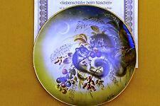 """Sammelteller Lilien Porzellan, """"Versteckte Schönheiten der Natur"""", 1990, OVP"""