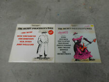 THE SECRET POLICEMAN'S BALL-2 LP'S-S/T-JEFF BECK-ERIC CLAPTON-PETE TOWNSHEND
