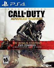 NEUF CALL OF DUTY : Advanced Warfare édition or (Sony Playstation 4, 2014)