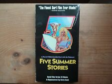 Five Summer Stories Super Surfing Vhs Tape Free Media Shipping Oop