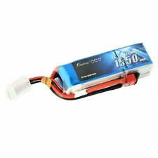 Gens Ace 1550mAh 3S 11.1V 25C 50C Lipo Battery Pack Deans Plug Small Plane Heli