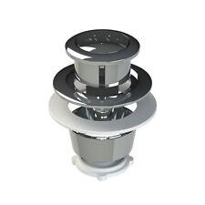 Viva Replacement Cistern Dual Flush Chrome Push Button for Skylo Valves