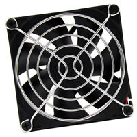 30x Black Computer PC Case Cooling Fan Durable Screw For Fan 60mm 80mm 120mmPP