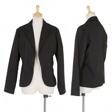 (SALE) yohji yamamoto COSTUME Gabardine stitch jacket Size 1(K-25454)