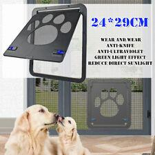 24x29CM Automatic Cat&Dog Pet Screen Door Nylon Mesh Gate Way Close Anti-insect