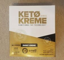 Pruvit Keto KREME Sweet Kreme FFT - 20 Packets in box - New and Sealed Box