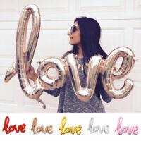 Love Letter Foil Balloon Birthday Wedding Birthday Party Anniversary Decor 34US