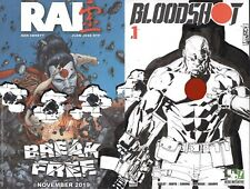 HERO INITIATIVE BLOODSHOT 50 PROJECT Original cover: RICK LEONARDI CGC 9.8