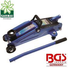 Cric sollevatore idraulico BGS 1880 2T 2000 KG a carrello per auto garage