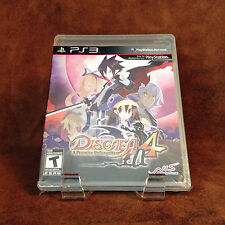 Disgaea 4 PS3; Like New Resealed [PlayStation 3]