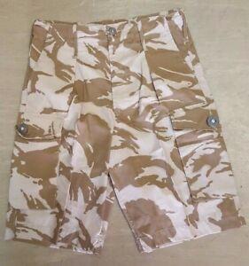Original British Army Issue DPM Desert Camo Shorts Various Sizes