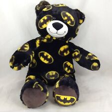 Batman Logo Build a Bear DC Comics Teddy Stuffed Toy 16 inches