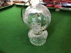 Waterford Crystal World Globe Boxed