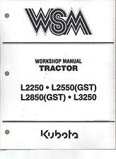 Kubota L2250 L2550(GST)L2850(GST)L3250 Workshop Service Repair Manual97897-10066