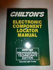 Chilton's Electronic Component Locator Manual 1989 - 1991 Cars and Light Truc191