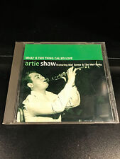 Artie Shaw-What Is This Thing Called Love-CD-VG Condition-President Records