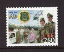 Chile MNH 2002 Police Force mint stamp