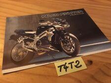 Aprilia SL1000 Falco Anlage Fighter Moto Prospekt Broschüre Katalog Werbung