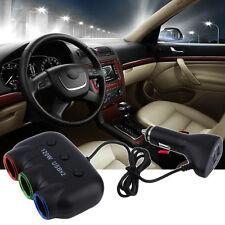 Multi Socket Auto Car Cigarette Lighter Splitter USB Adapter Charger 120W Y